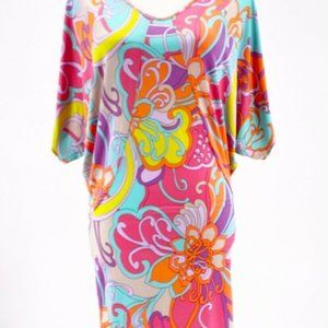 Trina Turk Womens Sheath Dress Multicolor Floral